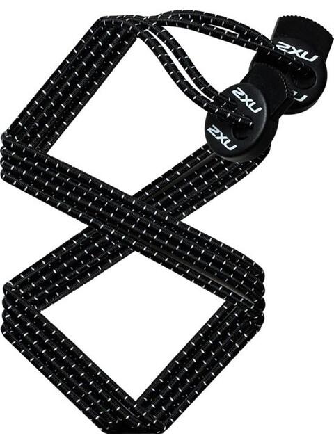 2XU Sport Laces Black/Black